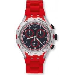 Orologio Uomo Swatch Irony Xlite Red Attack YYS4018AG Cronografo