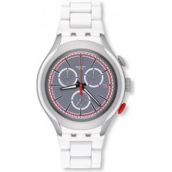 Orologio Uomo Swatch Irony Xlite White Attack YYS4019AG Cronografo