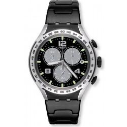 Orologio Uomo Swatch Irony Xlite Night Attack YYS4026AG Cronografo