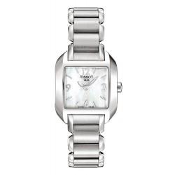Orologio Tissot Donna T-Lady T-Wave T02128582 Madreperla Quartz
