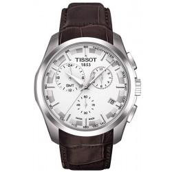 Orologio Tissot Uomo T-Classic Couturier GMT T0354391603100 Cronografo