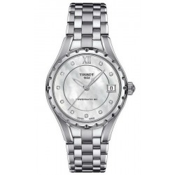Acquistare Orologio Tissot Donna Powermatic 80 T0722071111600 Diamanti Madreperla
