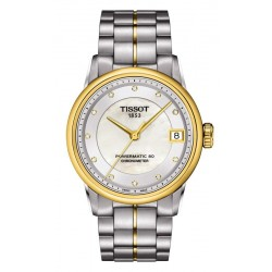 Acquistare Orologio Tissot Donna Luxury Powermatic 80 COSC T0862082211600 Diamanti