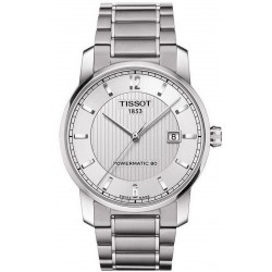 Orologio Tissot Uomo T-Classic Powermatic 80 Titanium T0874074403700