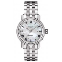 Orologio Tissot Donna Bridgeport Automatic T0970071111300 Madreperla