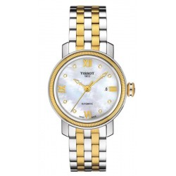 Acquistare Orologio Tissot Donna Bridgeport Automatic T0970072211600 Diamanti Madreperla