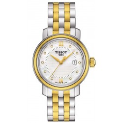 Orologio Tissot Donna Bridgeport T0970102211600 Diamanti Madreperla